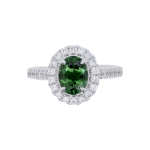 Green Tourmaline Diamond Halo Dress Ring Top 1083x1083
