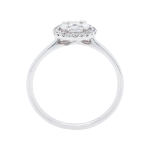 Delicate Diamond Cluster Halo Ring Front 1083x1083