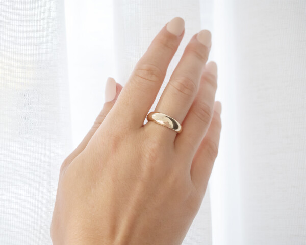 Large Gold Ring On Hand AgAu 1080x1350