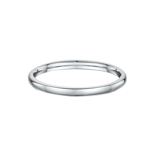Classic Dome 2mm Wide Wedding Ring